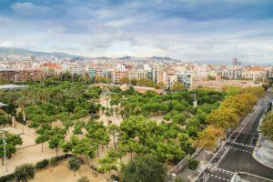 Calles de Barcelona vacías por cuarentena del coronavirus