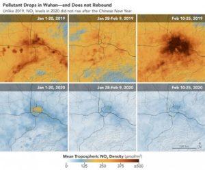 Wuhan y la reducción de la contaminación por covid-19