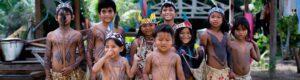 niños selva amazonia